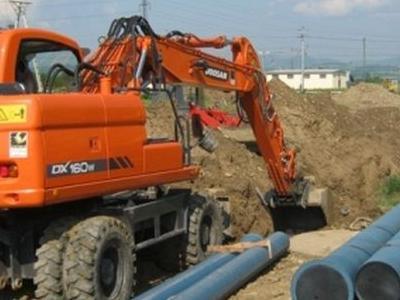 Budowa sieci wodociągowych 34