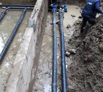 Budowa sieci wodociągowych 37