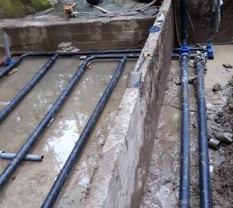 Budowa sieci wodociągowych 38