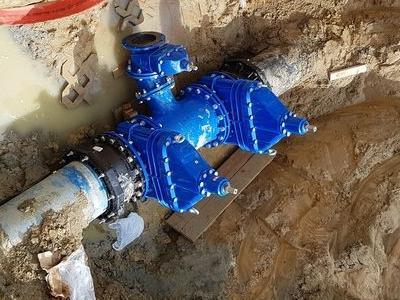 Budowa sieci wodociągowych 8