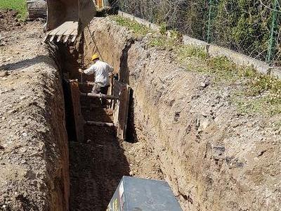 Budowa sieci kanalizacyjnych 4