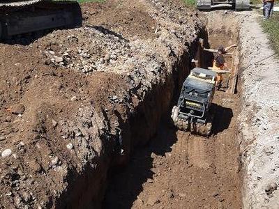 Budowa sieci kanalizacyjnych 5