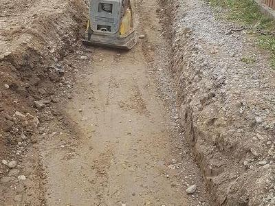 Budowa sieci kanalizacyjnych 6