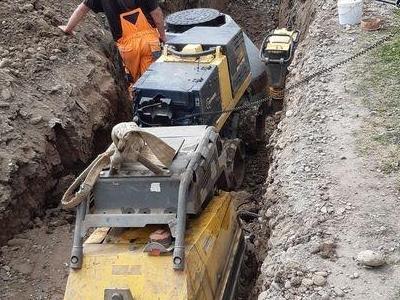 Budowa sieci kanalizacyjnych 7