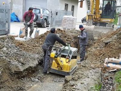 Budowa sieci kanalizacyjnych 11