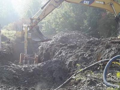 Budowa sieci kanalizacyjnych 28