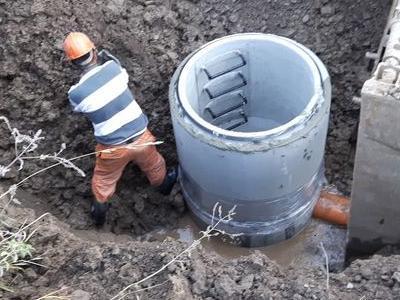 Budowa sieci kanalizacyjnych 29