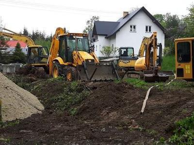 Budowa sieci kanalizacyjnych 22