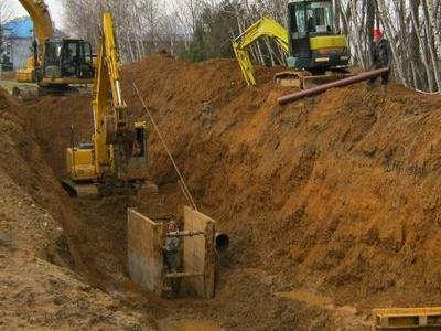 Budowa sieci kanalizacyjnych 24